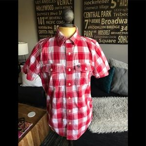 Abercrombie & Fitch: Short-Sleeve Button down